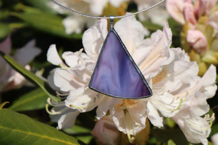 Fialový šperk - Tiffany šperky