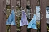 Anděl fialový - Tiffany šperky