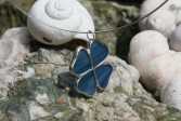 Čtyřlístek modrý - Tiffany šperky