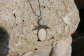 Andílek béžový - Tiffany šperky