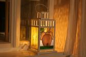 Lucerna pro štěstí se slonem - Tiffany šperky