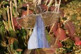 Anděl fialový zdobený - Tiffany šperky