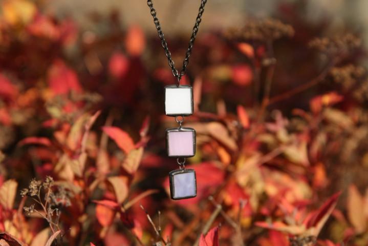 Trojbarevný šperk pro jemné duše - Tiffany šperky