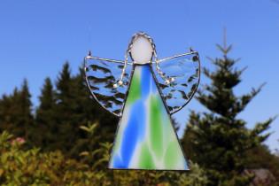 Andělka  s copánky - Tiffany šperky