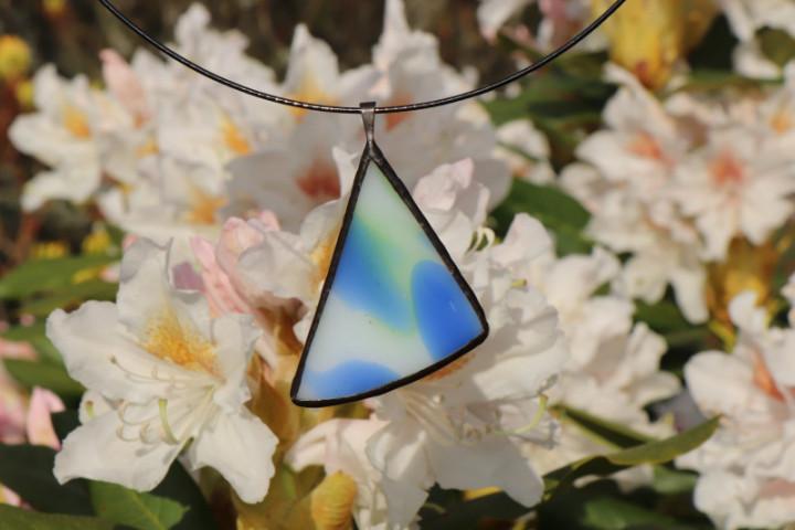 Barevný šperk s patinou - Tiffany šperky