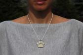 Tlapka béžová - Tiffany šperky