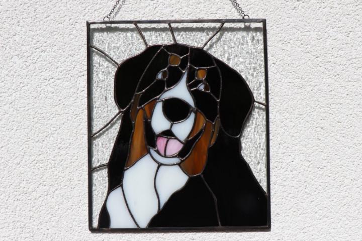 Bernský salašnický pes - Tiffany šperky