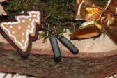 Náušnice vánoční - Tiffany šperky