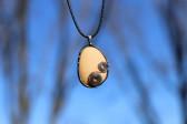 Béžový šperk s kamínkem - Tiffany šperky
