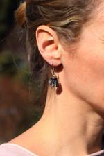 Náušnice mušle - Tiffany šperky