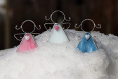 Andílek se srdíčkem bílý - Tiffany šperky