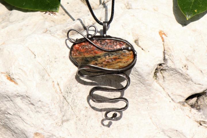 Velký šperk s patinou - Tiffany šperky